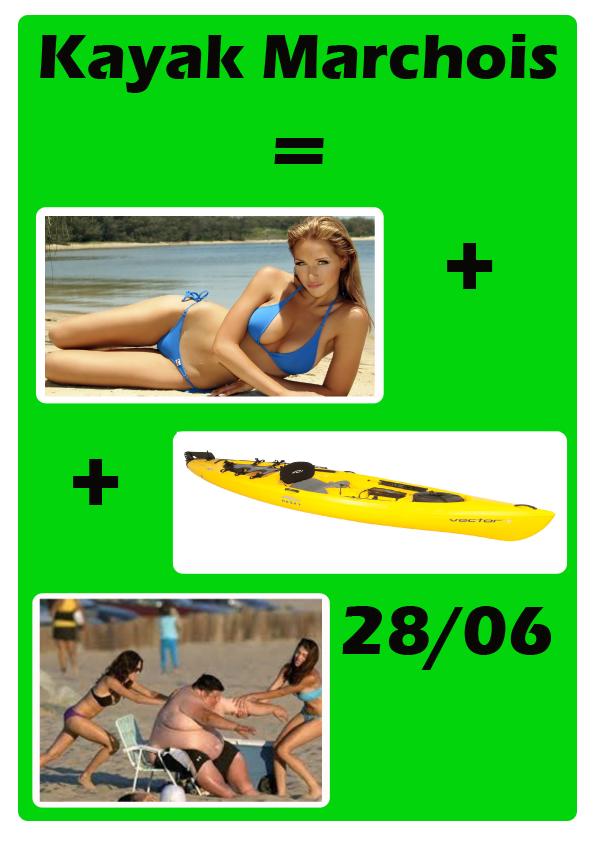 Kayak Marchois
